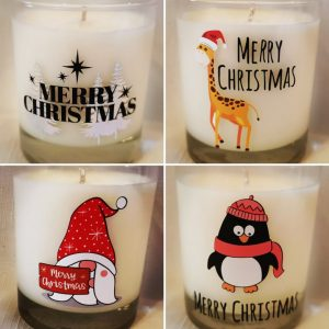 Soy Wax 20cl Christmas Themed Candles